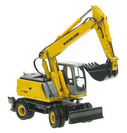 New Holland MH 5.6 Excavadora Ruedas, Ros Agritec 00191 escala 1/50