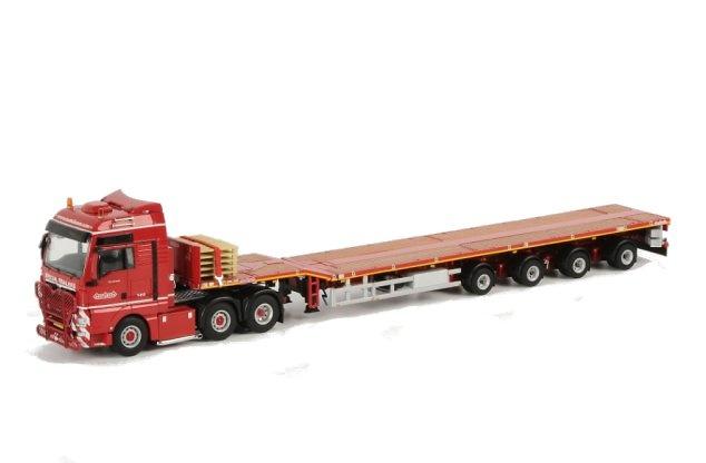 Nooteboom 4-ejes Telestep trailer + MAN TGX XXL 6x2, Wsi Collectibles 1/50