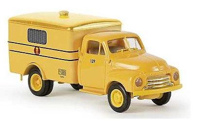 Opel Blitz correos danes 1/87 Brekina