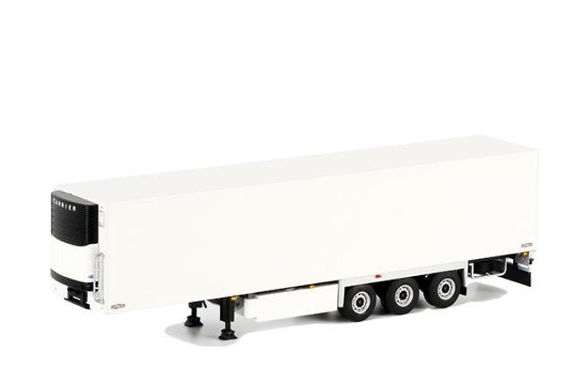 Remolque frigorifico Carrier 3 ejes blanco, Wsi Models 03-1071 escala 1/50