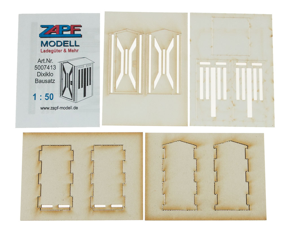 Sanitario portatil Dixi, Zapf-Modell 5007413 escala 1/50