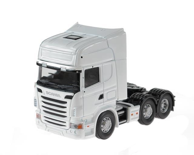 Scania R (FaceLift) 6x2 Topline, White Cab Corgi 13700 escala 1/50