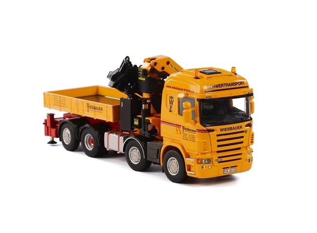 Scania R Highline Palfinger 7400.2 con JIB Wsi Models 1699