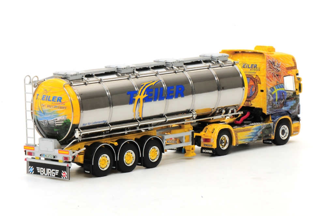 Scania R Topline 4x2 con cisterna, Wsi Collectibles 1/50 9808