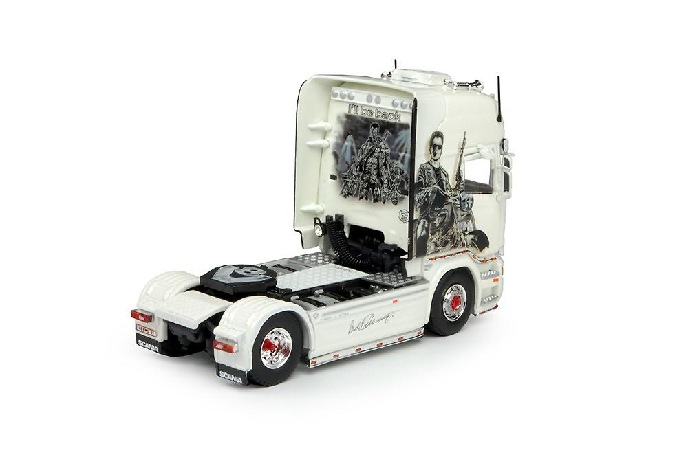 Scania R-Topline Arnold Schwarzenegger Tekno 69012 escala 1/50