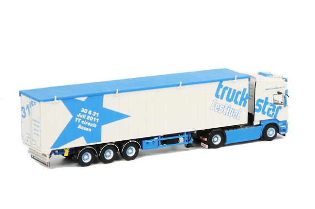 Scania R Topline Cargo Floor Trailer Truckstar 2011, Wsi Models 1029