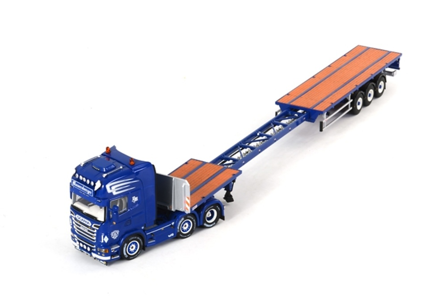 Scania R Topline Plataforma Extensible Mauersberger Wsi