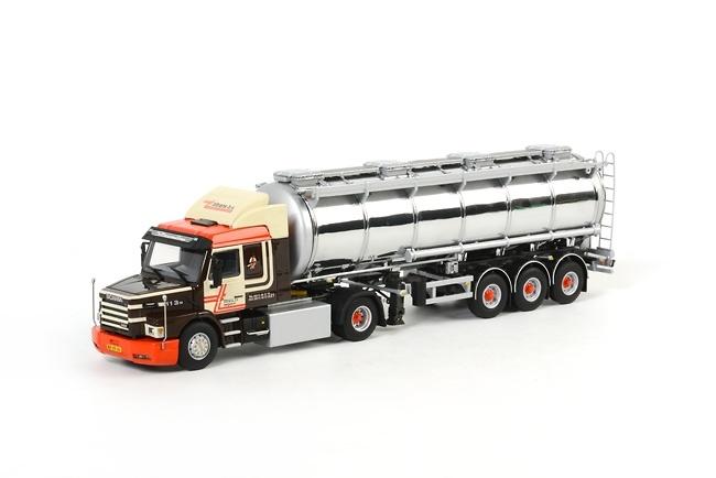 Scania T113/T143 Streamline cisterna Tiltrans Wsi Models 07-1035 escala 1/50