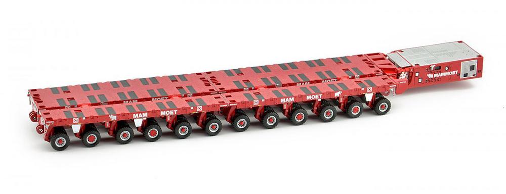 Scheuerle SPMT split - tijeras - Mammoet Imc Models 410204