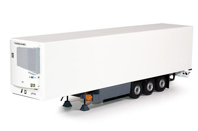 Semitrailer frigorifico Thermo KIing SLX 3 ejes, Tekno 62198 escala 1/50