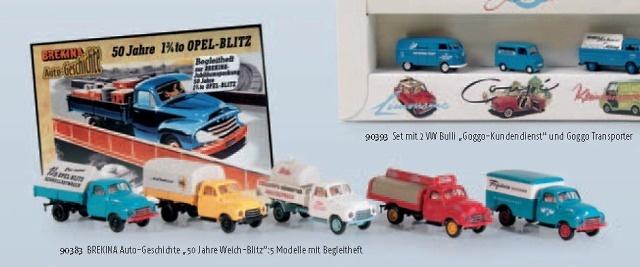Caja 50 Aniversario Opel Blitz Brekina 1/87