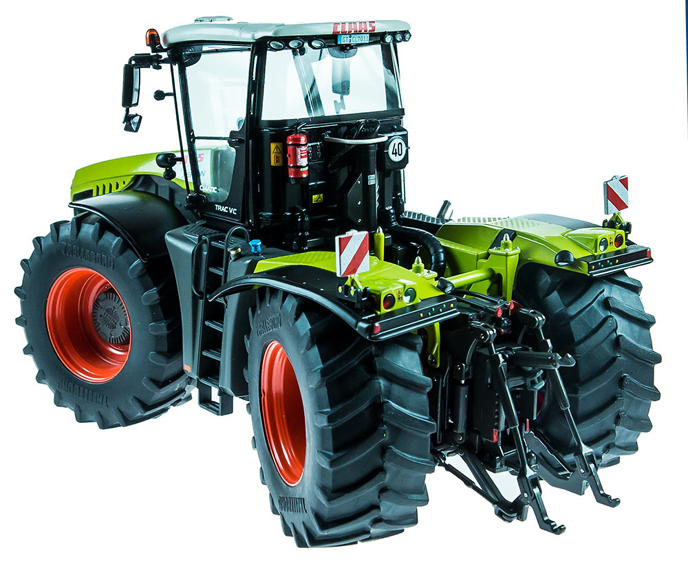 Tractor Claas Xerion 4000 TRAC VC Weise Toys 1029 escala 1/32