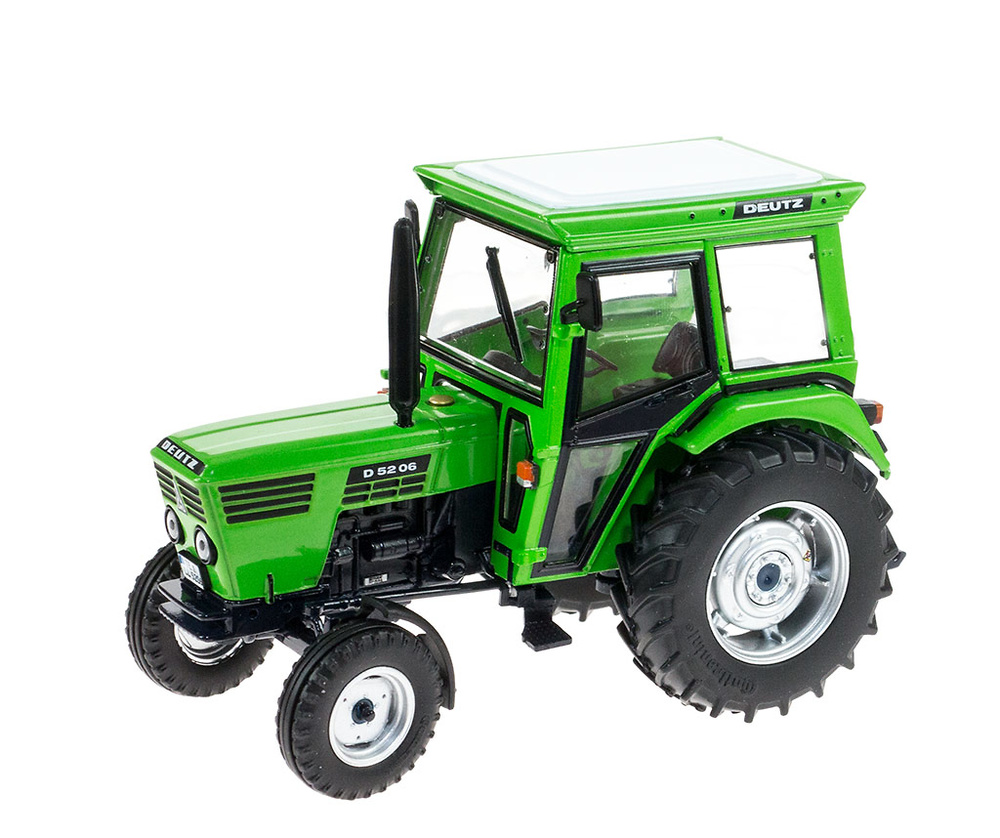 Tractor Deutz D 52 06 (1978 - 1980) Weise Toys 1041 escala 1/32