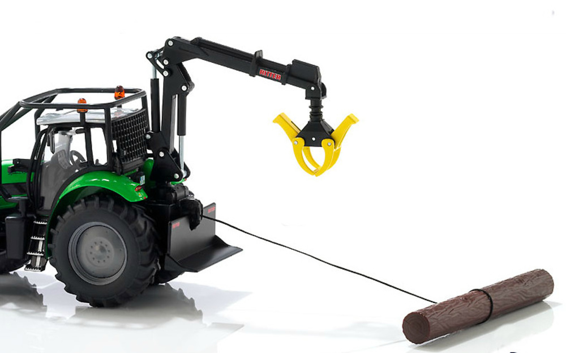 Tractor Deutz-Fahr Agrotron X720, Siku 3657 escala 1/32