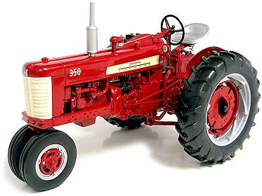 Tractor Farmall 350-Gas, International Harvester Speccast zjd164 escala 1/16