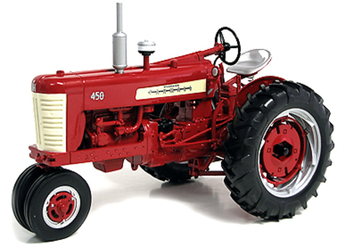 Tractor Farmall 450, International Harvester Speccast ZJD153 escala 1/16