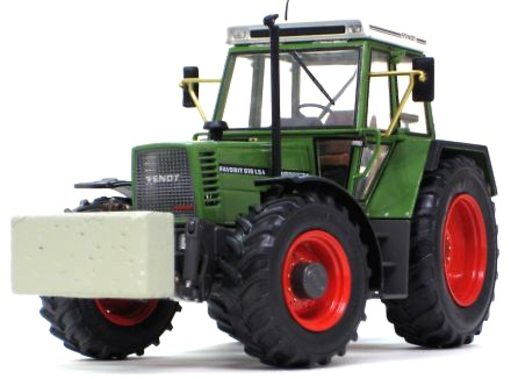 Tractor Fendt Favorit 615 LSA (1989-1993) Weise Toys 1007 escala 1/32