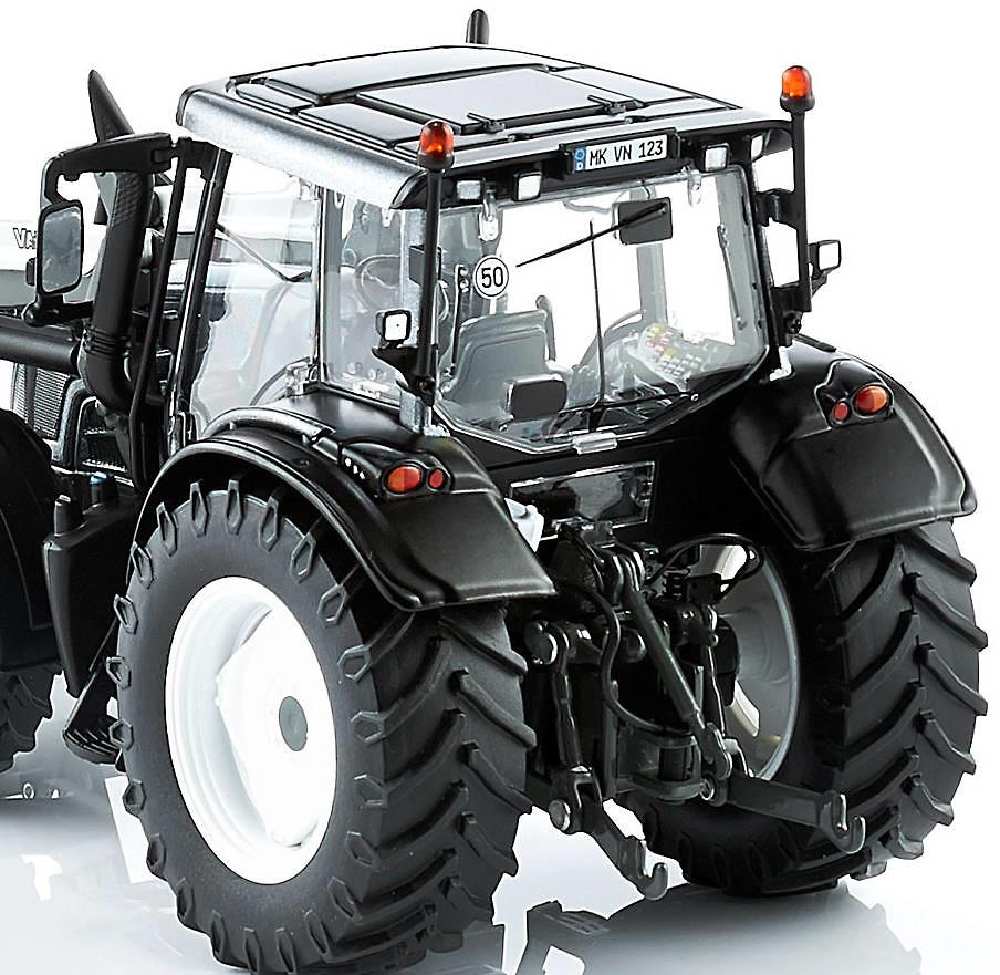 Tractor Valtra N123 con cargadora frontal Wiking 77327 escala 1/32
