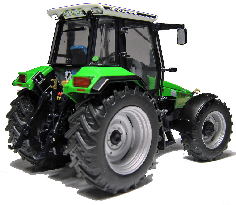 Traktor DEUTZ-FAHR AgroStar 6.38 (1993 - 1995) Weise Toys 1028 escala 1/32
