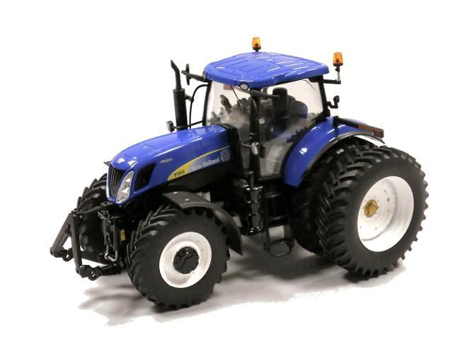 Traktor New Holland T7050 rueda doble, Ros Agritec 1/32 30137