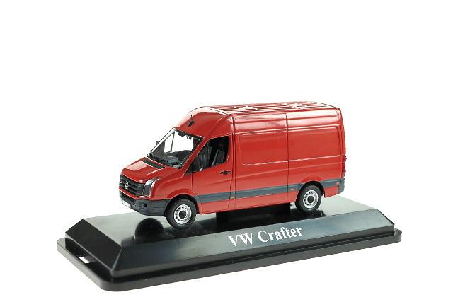 VW Crafter Kasten rot, Premium Classixxs 1/43 13700