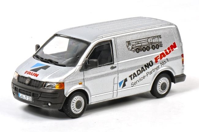 VW Transporter T5 Tadano Faun, Wsi Collectibles 1/50 1074