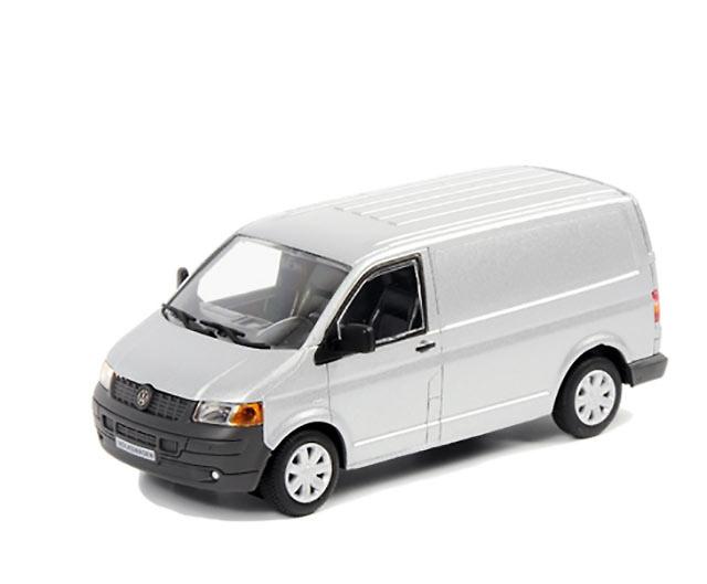 VW Transporter plateado Wsi Models 04-1025 escala 1/50