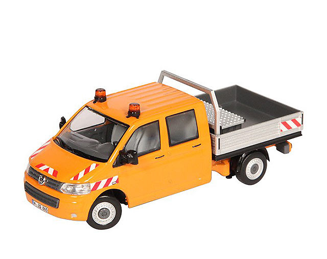 Volkswagen Transporter naranja NZG 888/65 escala 1/50