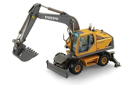 Volvo EW 180 B Excavadora Ruedas, Motorart 1/87 13045