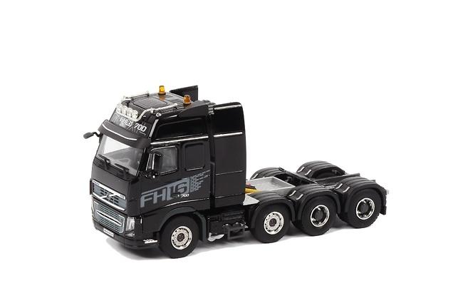 VOLVO FH16-700 8x4 negro, WSI Collectibles 1/50