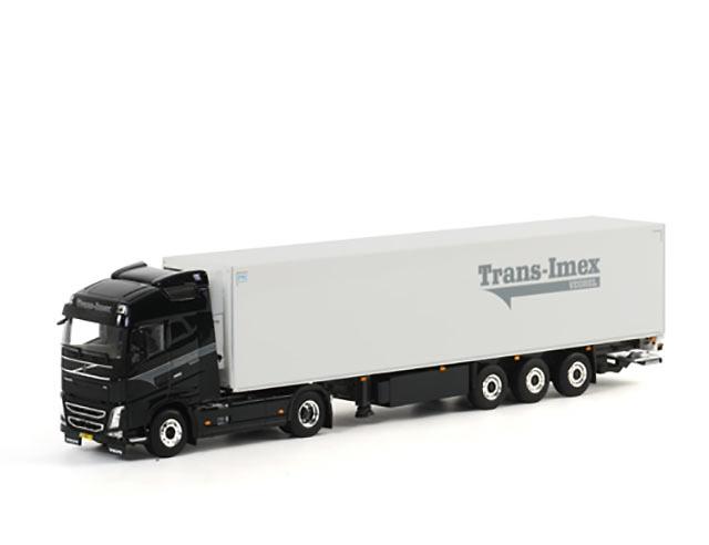 Volvo FH4 GL XL Frigo Carrier Trans - Imex Wsi Model 1464 escala 1/50