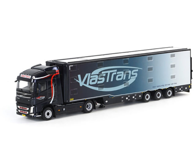 Volvo FH4 Globetrotter transporte animales Vlastrans Wsi Models 01-1450 escala1/50