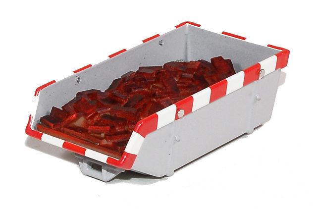 accesorio de carga para contenedor del modelo 59455 de tekno escala 1/50