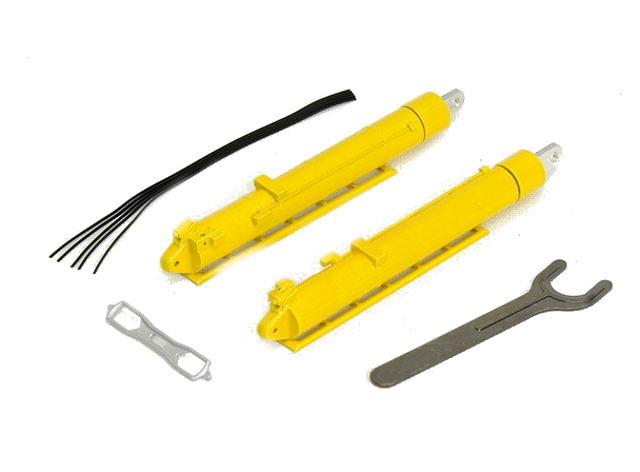 cilindro hidraulico en metal Liebherr LTM 11200 color Medicao / Eisele, YCC 1/50 872-7