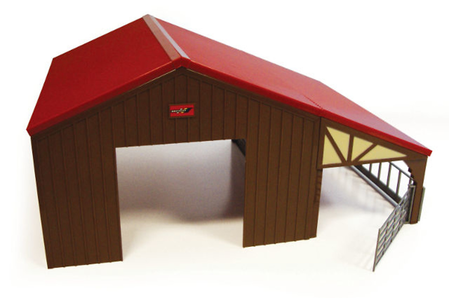 edificio granja Britains 42954 escala 1/32
