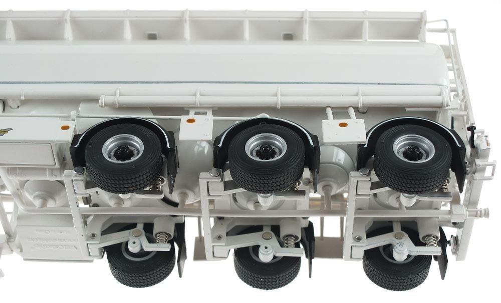 remolque cisterna Welgro Wsi Models 03-1007 escala 1/50