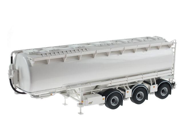 remolque cisterna 3 ejes blanco, WSI Collectibles 1/50