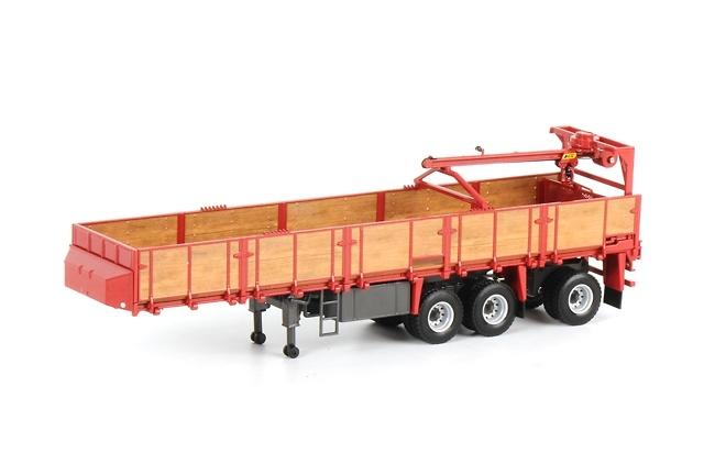 transporte piedras classico - rojo, Wsi Models 1/50
