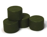 Balas redondas verde Britains 42834 escala 1/32