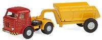 Camion Pegaso con trailer basculante, Joal 212 escala 1/50