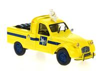 "Citroen 2cv pick up ""Michelin"" Altaya 1/43"