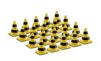 Conos obra amarillo, negro, Conrad 1/50 99823/01