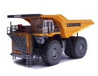 Dumper Liebherr T264 amarillo Conrad Modelle 2765 escala 1/50