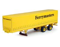 Ferrymasters - Klassische Plane Auflieger Tekno 64605 Masstab 1/50