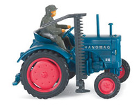 Hanomag R16 Tractor c/sega. (1953-58) Wiking 8850228