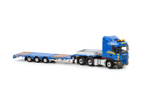 Havator 3-as semi-dieplader + Scania R5 Highline 6x4, Wsi Models 1/50