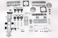 Kit cisterna 3 ejes Tekno 53919 escala 1/50