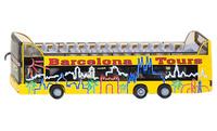 "MAN-Doppelstock-Sightseeing-Bus ""Barcelona"", Siku 1885 Masstab 1/87"