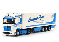 Mercedes-Benz Actros Giga Space Frigo Thermoking Europe Flyer Wsi Models 1450 escala 1/50