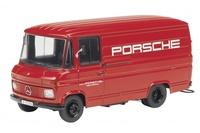 """Mercedes Benz L 408 """"Servicio Porsche"""" Schuco 1/43"""